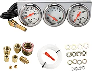 WarmCare Triple Gauge Kit Oil/Volt/Water Gauge 2