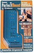 Laurey 98201 Modelo de alinhamento de precisão para montagem perfeita para equipamentos de armário, pacote com 1, corrediç...