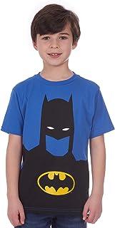 DC Comics Boys' Glow in The Dark T-Shirt – Batman Logo Kids