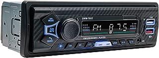 figatia Receptor Multimídia para Carro 12V Rádio Bluetooth USB MP3 Player com