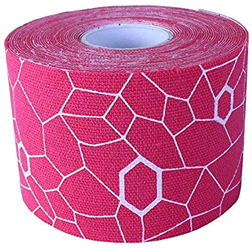 TheraBand Tape Pink/White, Individual Roll