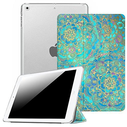 Fintie Hülle für iPad Mini 1 / iPad Mini 2 / iPad Mini 3 - Ultradünne Superleicht Schutzhülle mit transparenter Rückseite Abdeckung Cover mit Auto Schlaf/Wach Funktion, Jade