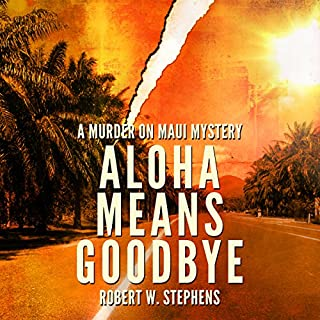 Aloha Means Goodbye audiobook cover art