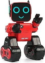 Hi-Tech Wireless Interactive Robot RC Robot Toy for Boys, Girls, Kids, Children (Red)