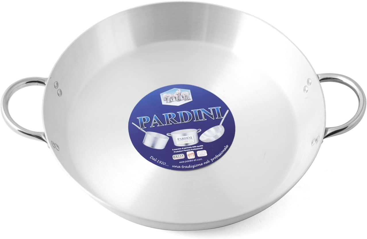 Pardini Omnia Saucepan Max 85% OFF with Direct store 30cm 2Handles Aluminium Grey
