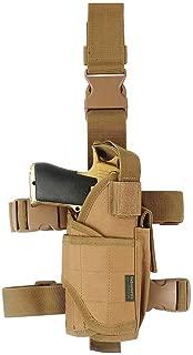 Drop Leg Holster, Right Handed Tactical Thigh Pistol Gun Holster Leg Harness