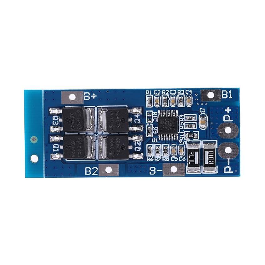犯罪変換する感度nineone  PCB保護ボード 3シリーズ11.1V 20A 18650 Li-ion 電池保護板 BMS保護板 リチウム電池セル用 バランス 短絡保護