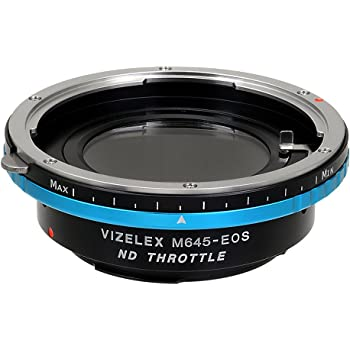 - with Built-in Variable ND Filter Camera EF, EF-s Hasselblad V-Mount Lens to Canon EOS Vizelex ND Throttle Lens Mount Adapter from Fotodiox Pro ND2-ND1000 APS-C /& Full