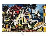 Picasso, Pablo - Mediterranean Landscape - Poster Gemälde