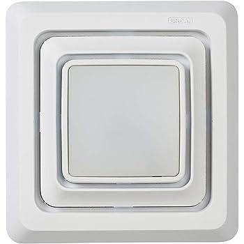 60 CFM Fan Motor White 2.5 Sones Broan-NuTone QK60S Broan Bathroom Ventilation Grille Upgrade QuickKit