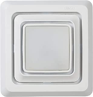 Broan-NuTone Broan FG600S LED Lighted Grille Upgrade for Bathroom Ventilation Fans, Easy Installation for DIY, White