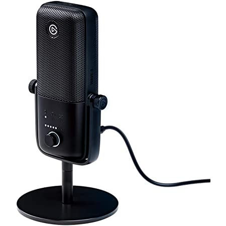 Elgato Wave: 3 – USB Condenser Microphone and Digital Mixer for Streaming, Recording, Podcasting - Clipguard, Capacitive Mute, Plug & Play for PC / Mac