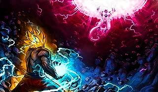 Dragonball Z Goku vs. Frieza DBZ TCG playmat, gamemat 24