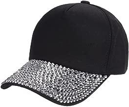 TWGONE Womens Beret Baseball Cap Rhinestone Paw Shaped Snapback Hat