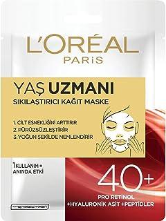 L'Oréal Paris Yaş Uzmanı Sıkılaştırıcı Kağıt Maske 40+