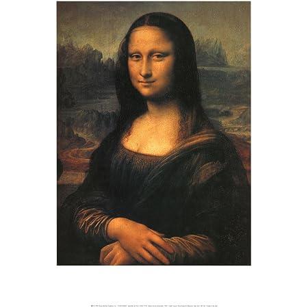 Mona Lisa Leonardo Da Vinci Painting Art Large Poster Canvas Picture Prints