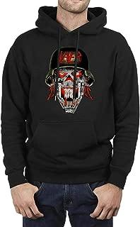 Man's Pullover Hoodie Sweatshirt Slayer-Hellmit-Soldier- Fleece Long Sleeve