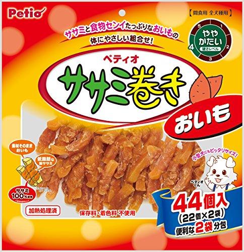 ペティオ (Petio) 犬用おやつ ササミ巻き おいも 44個入り