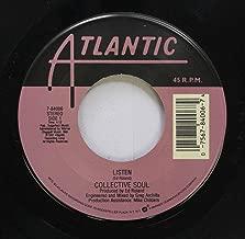 COLLECTIVE SOUL 45 RPM LISTEN / PRECIOUS DECLARATION