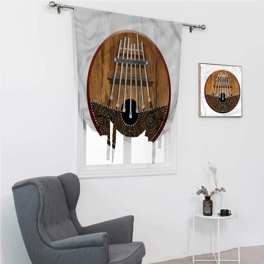 Drapes for Bedroom Kalimba Cheap mail order specialty store 4 years warranty Kids Blackout Historical Nig Curtains