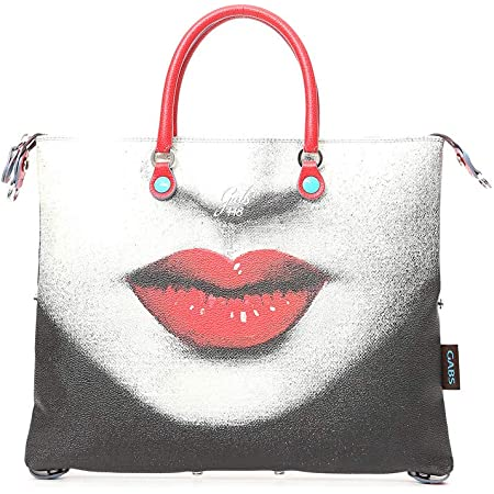 GABS Damen Tasche Kunstleder Ruga G3 Large Shopping transformierbar PASSIONE G00030T3/X0783/S0448