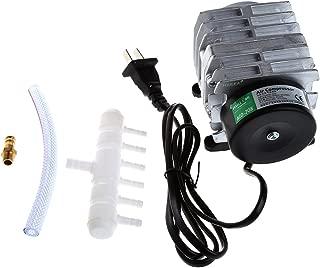 JAGETRADE 45L / min 25W Compresor de Aire electromagnético Acuario Oxígeno Estanque Aireador de la Bomba de Aire