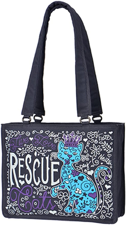 Calico Dragon Rescue Cats Don't Shop Adopt Animal Rights Vegan Handbag Purse