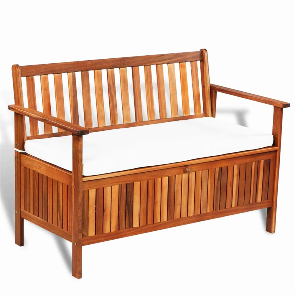 Wood Storage Bench 100 Acacia Wood Farm Buy Online In Belarus At Desertcart