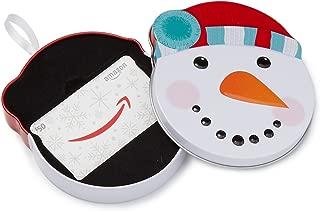 Amazon.com $50 Gift Card in a Snowman Tin