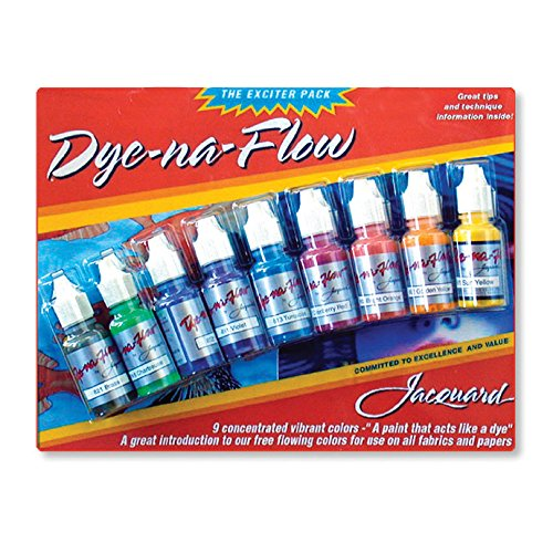 Jacquard Dye-Na-Flow Exciter Pack 9 Colors
