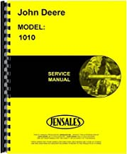 New Service Manual For John Deere Crawler 1010 Loader Attch G & D