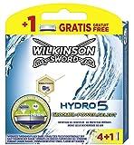 Wilkinson Sword Hydro 5 Groomer / Power Select Rasierklingen für Herren Rasierer 4 + 1 St