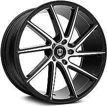 Curva C22 Custom Wheel - Black with Machined Face Rims - 20