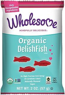 Wholesome Organic DelishFish, Gluten Free, Vegan, 2 oz. (Pack of 12)