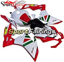 Sportbikefairings Gloss White Red Complete Injection ABS Plastic Fairing Kit For Aprilia RS4 125 RS125 2012 2013 2014 Motorcycle Cowlings Free Gifts Bodywork