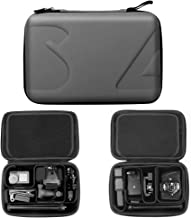 Helistar Carrying Case Compatible with DJI Osmo Action Camera, Osmo Pocket, Insta360 ONE X Camera, GoPro Hero 7/6/5/4/3+/3/ GoPro Hero 2018 Camera