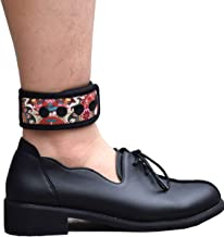 DDJOY Ankle Strap for Compatible with Fitbit & Garmin, Ankle Band for Compatible with Charge 2/3 Alta/HR Flex/2 Fitbit One or Garmin Vivofit/2/3/4, Ankle Band for Men and Women