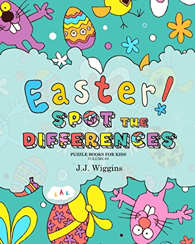 Spot the Differences: Easter (Puzzle Books for Kids)