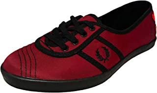 Fred Perry Aubrey Womens Sneakers Maroon