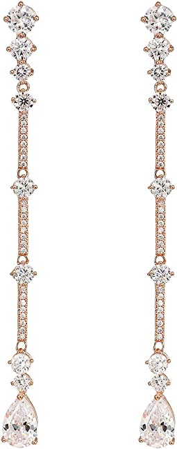 Rose Gold/White CZ