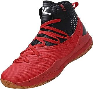b0b07144cfa SINOES Hombre Zapatillas de Baloncesto Calzado Deportivo Al Aire Libre Moda  High-Top Sneaker Antideslizante