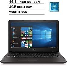 2019 Premium Flagship HP Pavilion 15.6 Inch Laptop (Intel Celeron N4000 up to 2.6GHz, 8GB DDR4 RAM, 256GB SSD, Intel UHD 600, WiFi, Bluetooth, HDMI, DVD, Windows 10) (Renewed)
