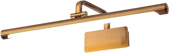 LED-spiegellicht, eenvoudige en creatieve vrije perforatie van de Europese wastafelspiegel licht badkamer spiegel kabinet ...