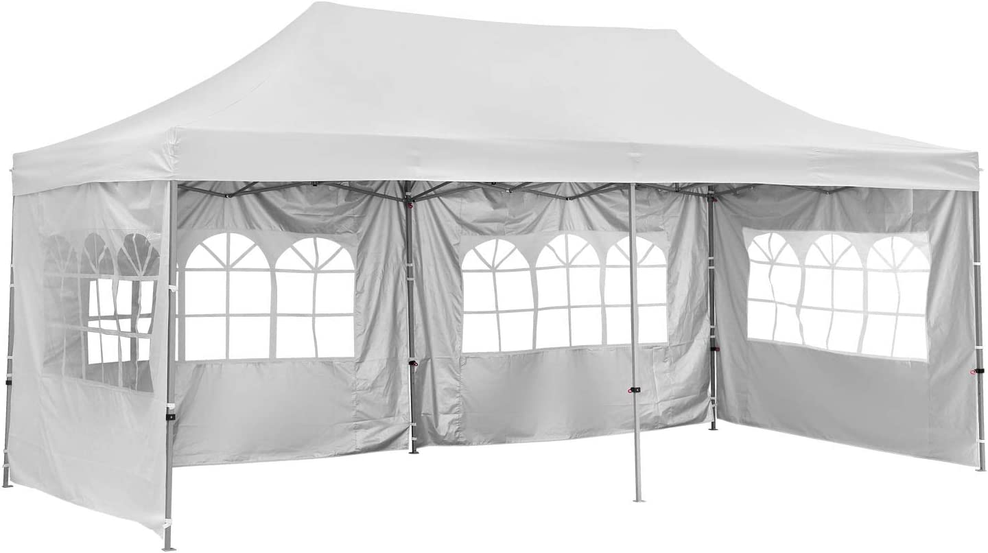 GDY 10x20 Feet Pop Up Outdoor Commercial Instant El Paso Mall Tent Max 89% OFF Canopy Ga