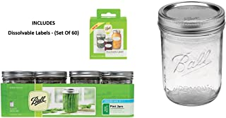 wide mouth pint canning jars