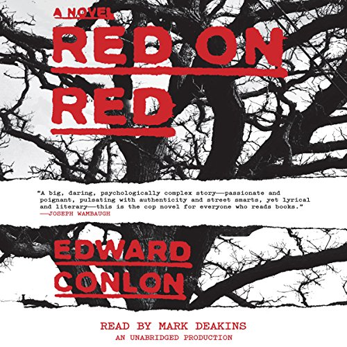 Red on Red audiobook cover art