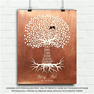 Best 22 year anniversary gift copper Reviews