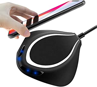 Wireless Charger, QBUC Qi Wireless Pad Station Qi-Certified Wireless Charging Pad for iPhone and Samsung