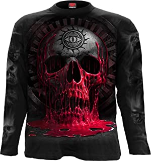 Spiral Bleeding Souls - Longsleeve T-Shirt Black - XXL