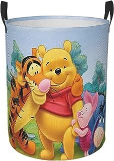 Panier à linge Winnie l'ourson étanche pour chambre d'enfant ou salle de bain